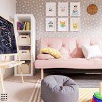 thiết kế căn hộ 20m2 đầy đủ tiện nghi phòng ngủ con 1