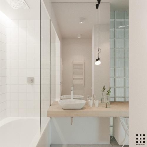 thiết kế căn hộ 20m2 đầy đủ tiện nghi phòng vệ sinh 2
