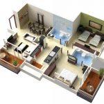24 mẫu thiết kế căn hộ 2 phòng ngủ cho vợ chồng trẻ 16