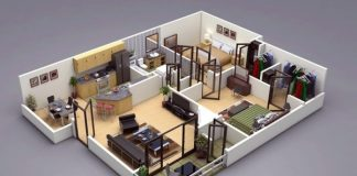 24 mẫu thiết kế căn hộ 2 phòng ngủ cho vợ chồng trẻ 2