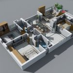 24 mẫu thiết kế căn hộ 2 phòng ngủ cho vợ chồng trẻ 6