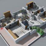24 mẫu thiết kế căn hộ 2 phòng ngủ cho vợ chồng trẻ 7
