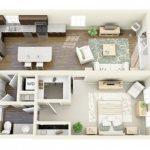 50 mẫu thiết kế căn hộ 1 phòng ngủ đẹp hiện đại 31