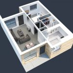 50 mẫu thiết kế căn hộ 1 phòng ngủ đẹp hiện đại 34