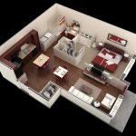 50 mẫu thiết kế căn hộ 1 phòng ngủ đẹp hiện đại 35