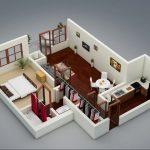 50 mẫu thiết kế căn hộ 1 phòng ngủ đẹp hiện đại 40