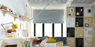 thiết kế phòng ngủ trẻ em sáng tạo hiện đại 1