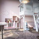 thiết kế phòng ngủ trẻ em sáng tạo hiện đại 14