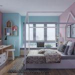 thiết kế phòng ngủ trẻ em sáng tạo hiện đại 20