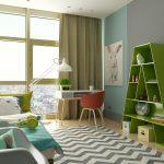 thiết kế phòng ngủ trẻ em sáng tạo hiện đại 9