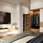 Trang trí phòng ngủ nhỏ trẻ trung hiện đại 12