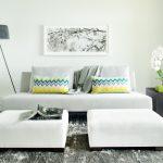 ghế sofa nhỏ cho không gian phòng khách nhỏ