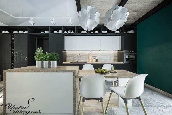 mẫu thiết kế căn hộ thông tầng 11