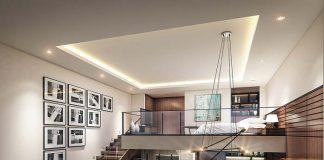 mẫu thiết kế căn hộ thông tầng 25