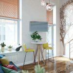 mẫu thiết kế căn hộ thông tầng 3
