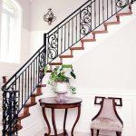 mẫu thiết kế cầu thang đẹp được làm từ gỗ sắt kính inox 11