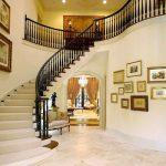 mẫu thiết kế cầu thang đẹp được làm từ gỗ sắt kính inox 20
