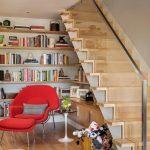 mẫu thiết kế cầu thang gỗ đẹp 20
