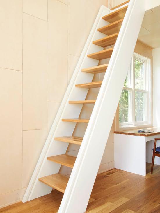 mẫu thiết kế cầu thang gỗ đẹp 28