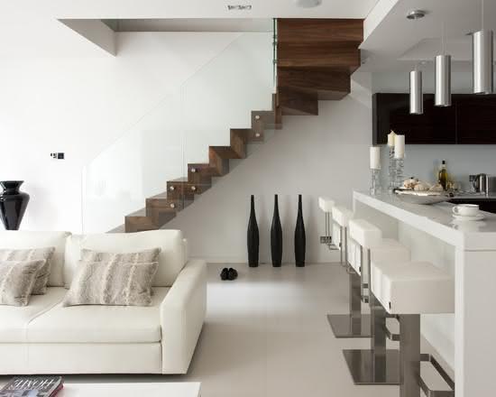 mẫu thiết kế cầu thang gỗ đẹp 42
