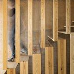 mẫu thiết kế cầu thang gỗ đẹp 51