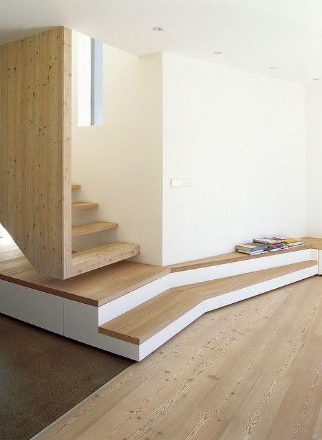 mẫu thiết kế cầu thang gỗ đẹp 53