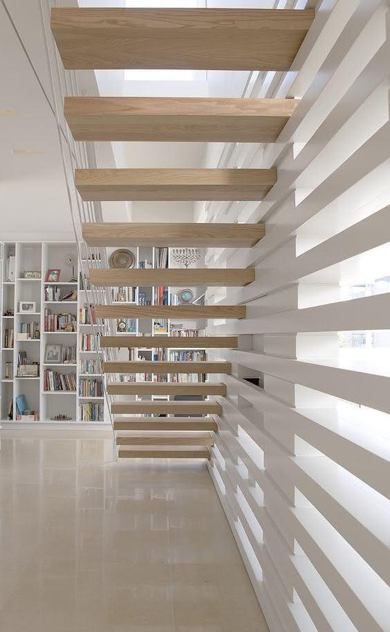 mẫu thiết kế cầu thang gỗ đẹp 56