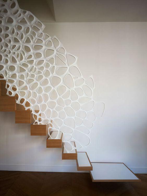 mẫu thiết kế cầu thang gỗ đẹp 64