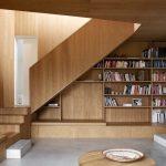 mẫu thiết kế cầu thang gỗ đẹp 66