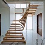 mẫu thiết kế cầu thang gỗ đẹp 67