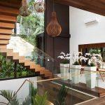 mẫu thiết kế cầu thang gỗ đẹp 68