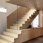 mẫu thiết kế cầu thang gỗ đẹp 69