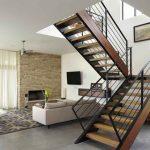 mẫu thiết kế cầu thang gỗ đẹp 70