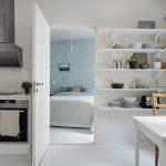 thiết kế căn hộ nhỏ đẹp lựa chọn phong cách scandinavia