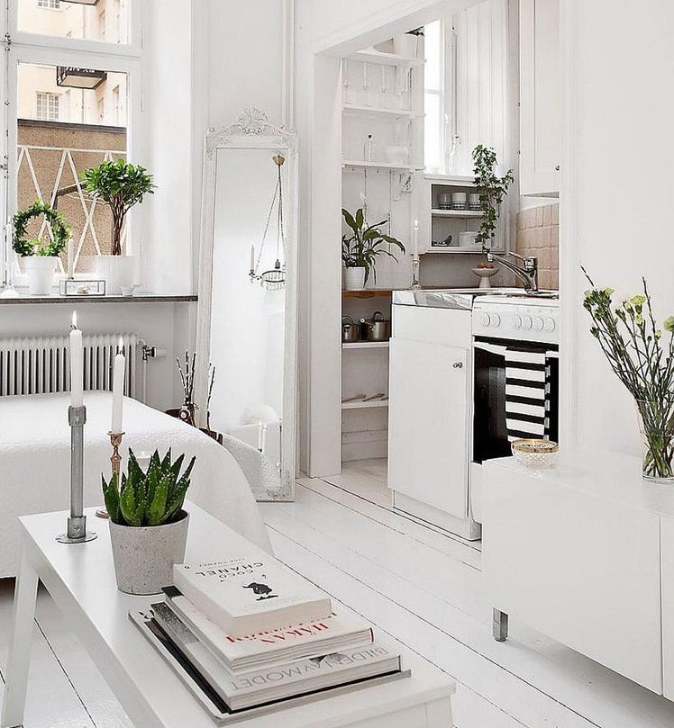 thiết kế căn hộ nhỏ đẹp tận dụng không gian