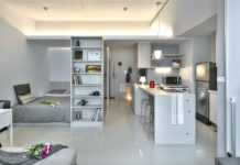 thiết kế căn hộ nhỏ đẹp yếu tố ánh sáng