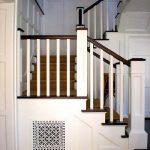 mẫu thiết kế cầu thang đẹp được làm từ gỗ sắt kính inox 19