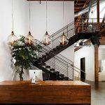 mẫu thiết kế cầu thang đẹp được làm từ gỗ sắt kính inox 26