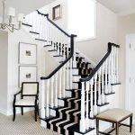 mẫu thiết kế cầu thang đẹp được làm từ gỗ sắt kính inox 3
