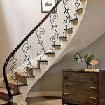 mẫu thiết kế cầu thang đẹp được làm từ gỗ sắt kính inox 28