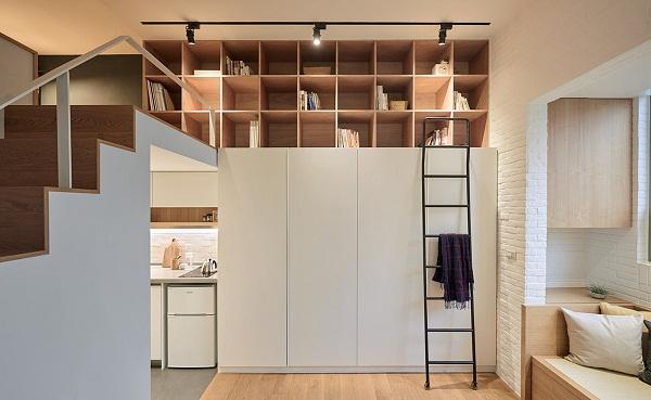 Thiết kế căn nhà nhỏ đẹp có diện tích 25m2