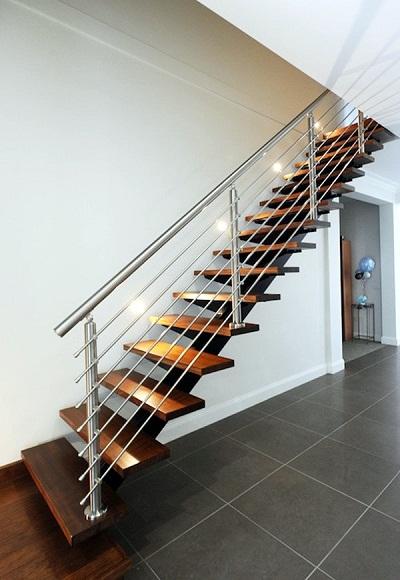 15 mẫu thiết kế cầu thang đẹp được làm từ gỗ, sắt, kính, inox 2018