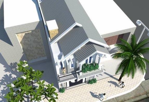 Mẫu nhà đẹp 2 tầng đặc trưng