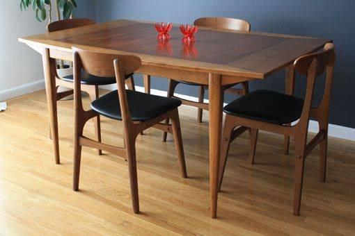 Mẫu bàn ăn gỗ tự nhiên