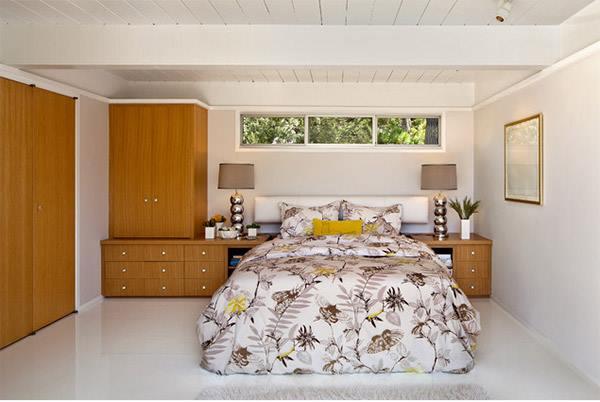 Mẫu tủ quần áo gỗ đơn giản